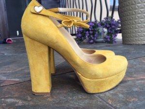 Twin set High Heels dark yellow
