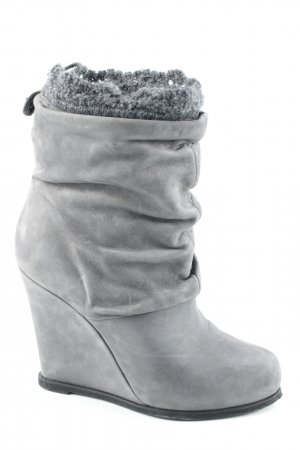 Twin set Booties grau Casual-Look
