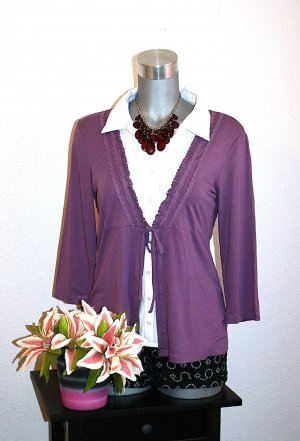Twin Set Cardigan Gr. 40/42 Blogger Pullover Bluse Business
