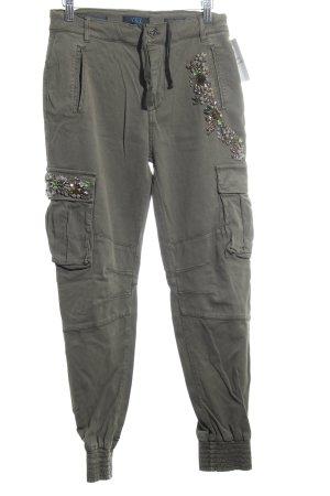 Twin set Cargo Pants khaki glittery