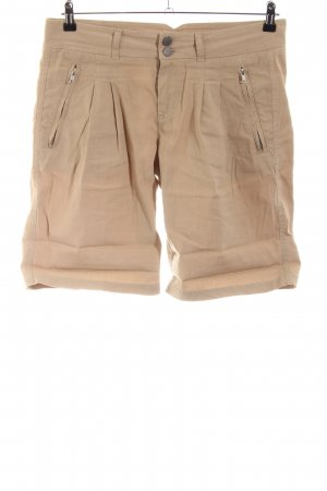 Twin set High-Waist-Shorts natural white casual look