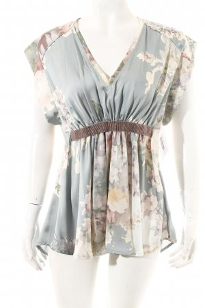 Twin set Kurzarm-Bluse florales Muster Elegant