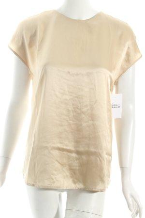 Twin set Blouse à manches courtes doré style mouillé