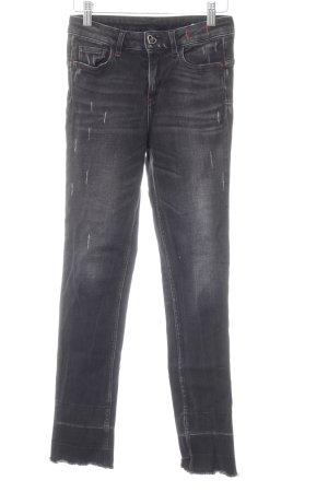 Twin Set My Twin Skinny Jeans dark grey-black casual look