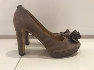 Twin Set Pumps in Taube