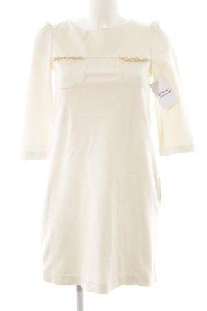 Twin-Set Simona Barbieri A-Linien Kleid weiß Elegant