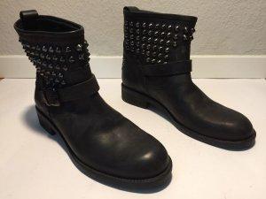 Twin-Set Simona Barbieri Low boot noir cuir
