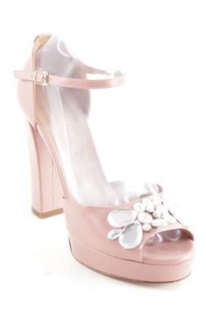 Twin-Set Simona Barbieri Sandaletto con tacco alto rosa antico elegante