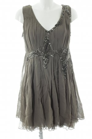 Twin-Set Simona Barbieri Kurzarmkleid khaki Casual-Look