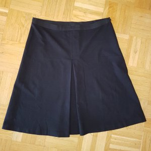 Twin-Set Simona Barbieri Plaid Skirt black viscose