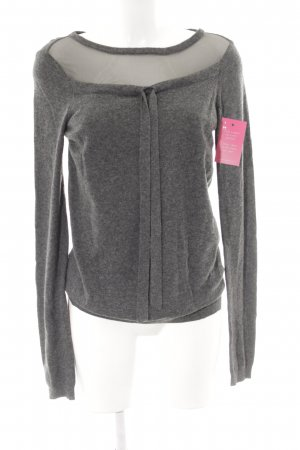 Twin-Set Simona Barbieri Strickpullover grau Casual-Look