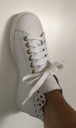 Twin Set Sneaker NEU Gr. 36 (35) Leder weiß