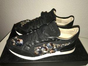 Twin-Set Sneakers Turnschuhe Damen Sportschuhe Leder CA5PEN Gr. 37 OP 239 Euro