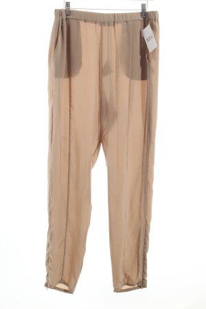 Twin set Stoffhose graubraun Eleganz-Look