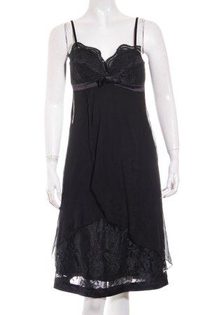 Twin set Trägerkleid schwarz Elegant