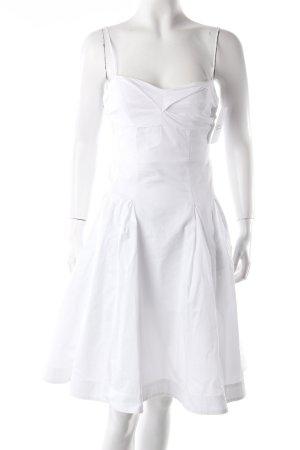 Twin-Set Trägerkleid weiß