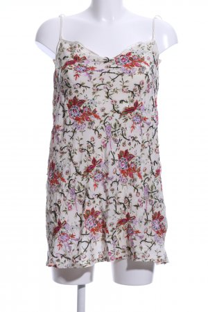 Twin set Strappy Top flower pattern casual look