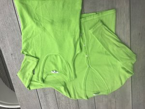 Allude Knitted Twin Set neon green-green cashmere