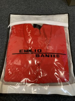 Paola Cipriani Twin Set red cashmere