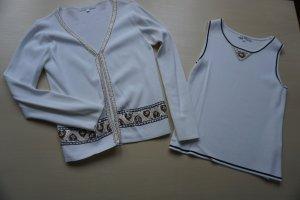 Imagini Twin Set tipo suéter blanco-color oro