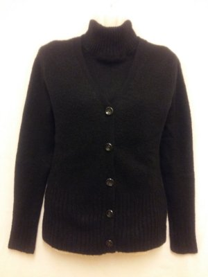 Sweater Twin Set black mohair