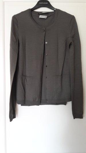René Lezard Twin Set punto gris verdoso lana merina