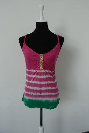 Twinset pink grün von Velvet Gr. S
