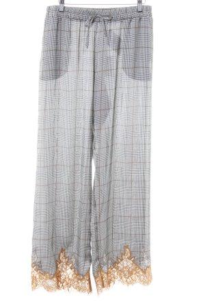 TwinSet Simona Barbieri Pantalon 7/8 motif Prince de Galles style d'affaires