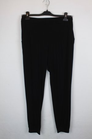 TwinSet Simona Barbieri Pantalon de jogging noir viscose
