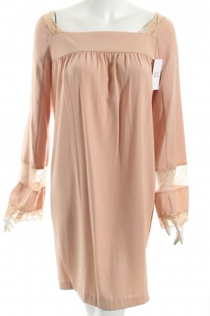 TwinSet Simona Barbieri Kleid nude Romantik-Look