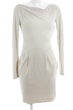 TwinSet Simona Barbieri Langarmkleid beige Casual-Look