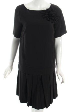 TwinSet Simona Barbieri Shirtkleid schwarz Urban-Look