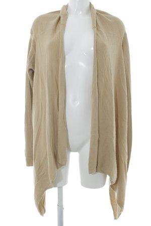 TwinSet Simona Barbieri Strick Cardigan beige-schwarz Herzmuster Casual-Look