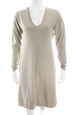 TwinSet Simona Barbieri Strickkleid beige Casual-Look