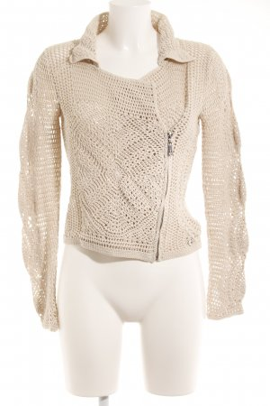 TwinSet Simona Barbieri Strickweste creme Casual-Look