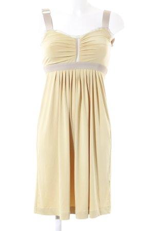 TwinSet Simona Barbieri Trägerkleid dunkelgelb-beige Romantik-Look