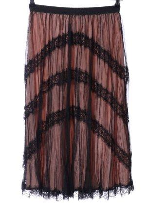 TwinSet Simona Barbieri Tulle Skirt pink-black casual look