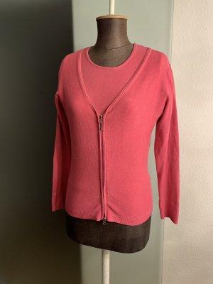 Twinset  Strick Jacke und Shirt Gr 36 38 S von Just woman Wollmischung