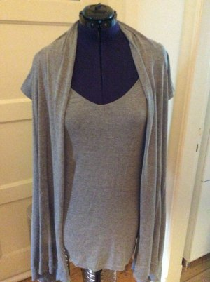 Marc O'Polo Ensemble en tricot gris clair lin