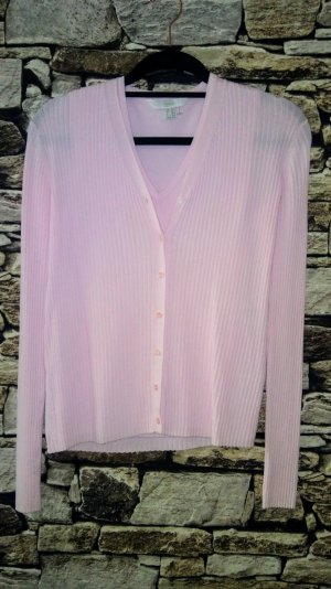 Tchibo / TCM Woven Twin Set pink mixture fibre