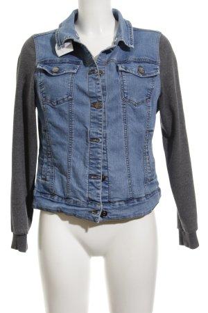 Twintip Veste en jean bleu style décontracté