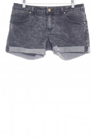 Twintip Shorts anthrazit Washed-Optik