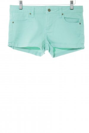 Twintip Shorts türkis Allover-Druck Casual-Look