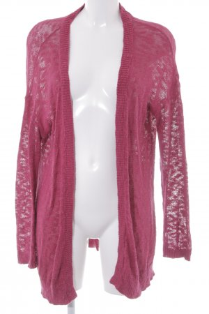 Twintip Strick Cardigan violett Casual-Look
