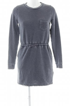 Twintip Sweatkleid stahlblau Casual-Look