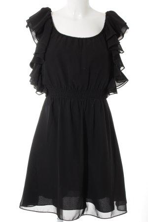 Twist & Tango Robe chiffon noir élégant