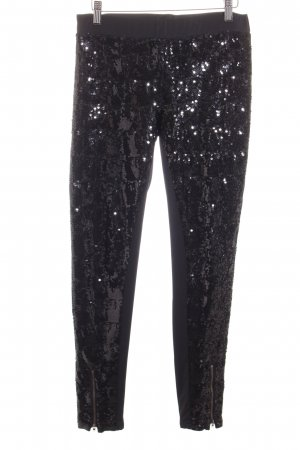 Twist & Tango Leggings schwarz Glitzer-Optik