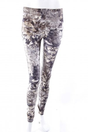Twist & Tango velvet leggings flower pattern
