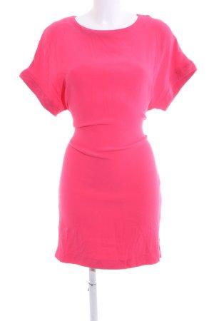 Twist & Tango Vestido estilo camisa rosa look casual