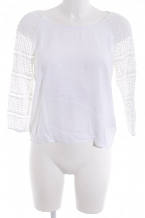 Twist & Tango Knitted Top white casual look